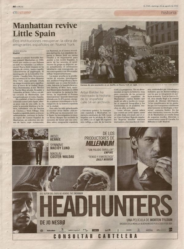 El País, Little Spain