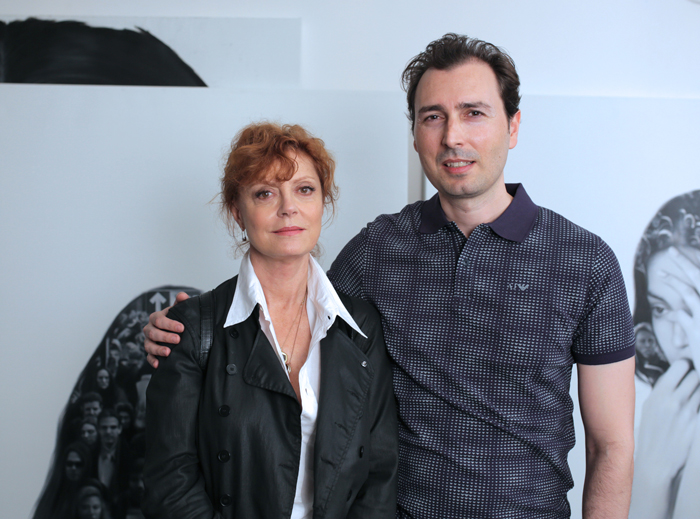 Arthur Balder and Susan Sarandon